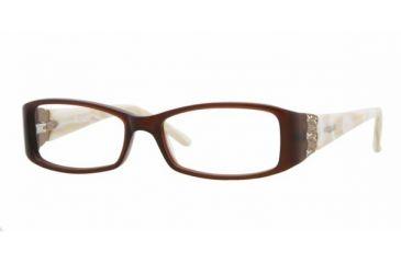 eed50cd007 Vogue VO 2595B Eyeglasses Styles Brown Frame w Non-Rx 50 mm Diameter Lenses
