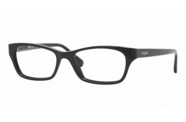 Vogue VO 2597 Eyeglasses w/ Black Frame w/Non-Rx 51 mm Diameter Lenses, W44-5116