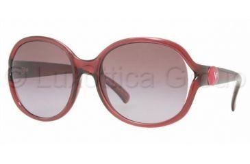 Vogue VO 2616S Sunglasses Styles Bordeaux Frame / Violet Gradient Lenses, 17528H-5718, Vogue VO 2616S Sunglasses Styles Bordeaux Frame / Violet Gradient Lenses
