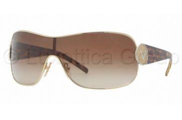 e81de86f8c Vogue VO 3703S Sunglasses Styles Gold Frame   Brown Gradient Lenses