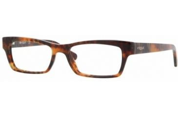 Vogue VO2596 Single Vision Prescription Eyewear W694 -5116 - Light Havana