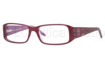 Vogue VO2635 Single Vision Prescription Eyewear 1650-5016 - Top Violet/Transparent