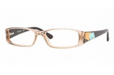 Vogue VO2646 #W971 - Brown Transparent Demo Lens Frame