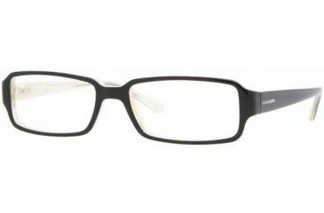 Vogue VO2666A Progressive Prescripton Eyeglasses 1345 -5216 - Black Top On Horn Beig