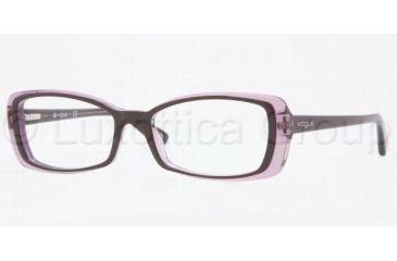 Vogue VO2692 Bifocal Prescription Eyeglasses 1887-4916 - Top Dark Violet/Violet