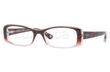Vogue VO2706 Single Vision Prescription Eyeglasses 1849-5116 - RED/PINK GRADIENT Frame