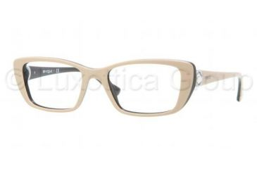 Vogue VO2749H Bifocal Prescription Eyeglasses 1985-5118 - Dark Steel Frame