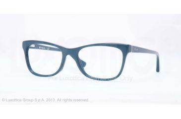 Vogue VO2763 Bifocal Prescription Eyeglasses 2134-51 - Crystal/petroleum Green Pearl Frame
