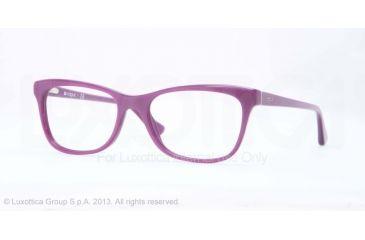 Vogue VO2763 Bifocal Prescription Eyeglasses 2136-51 - Top Crystal On Pearl Violet Frame
