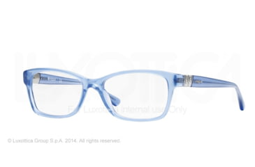 Vogue VO2765B Prescription Eyeglasses 2198-51 - Opal Blue Transparent Frame
