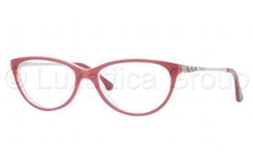 Vogue VO2766 Eyeglass Frames 2008-5016 - Top Red Pearl / Pink Frame, Demo Lens Lenses
