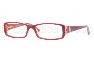 255a1fd045 Vogue VO2768B Eyeglass Frames 1986-5116 - Top Bordeaux Orange Transparent  Frame