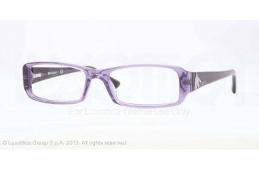 Vogue VO2768B Eyeglass Frames 2121-51 - Violet Transparent Frame