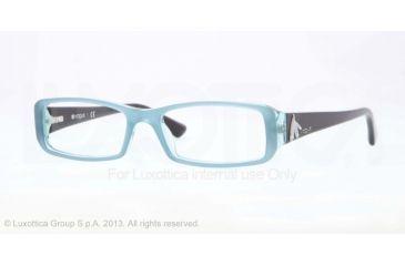 Vogue VO2768B Eyeglass Frames 2138-51 - Light Green Transparent Frame