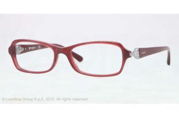 Vogue VO2789B Bifocal Prescription Eyeglasses 2128-52 - Bordeaux Frame, Demo Lens Lenses