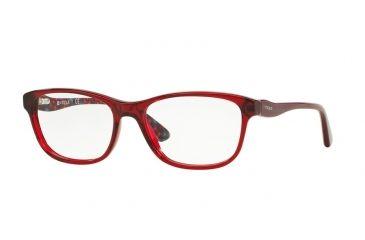 e1235cccb5 Vogue VO2908 Eyeglass Frames 2257-51 - Transparent Bordeaux Frame