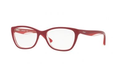 2d3ead627ad Vogue VO2961 Eyeglass Frames 2494-51 - Top Red red opal Pink Frame
