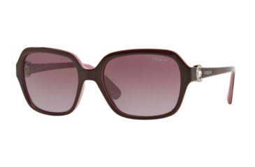 566897cf49c Vogue VO2994SB Single Vision Prescription Sunglasses VO2994SB-23218H-57 - Lens  Diameter 57 mm