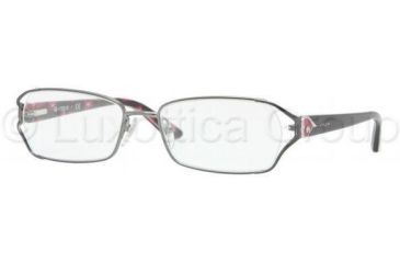 Vogue VO3798B Single Vision Prescription Eyeglasses 548S-5117 - Matte Gunmetal Frame