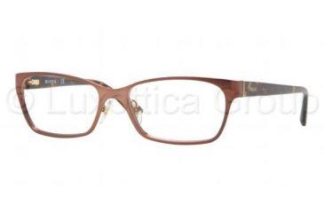 Vogue VO3816 Single Vision Prescription Eyeglasses 811-5116 - Brown Frame