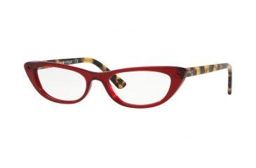 d07ad1990b Vogue VO5236B Prescription Eyeglasses 1947-51 - Transparent   Red Frame