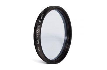 Vortex Polarizer Lens for Low Light use