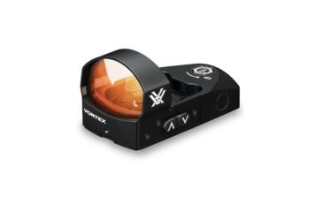 Vortex Venom 1x26.5mm 6 MOA Red Dot Sight with VMX-3T Magnifier w/ Flip Mount, CR1632 Battery, Black, VMD-3106-KIT1