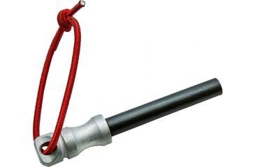 1-Vulture Equipment Works 4.125in Aluminum Cap Ferro Rod w/Stone Wash Finish