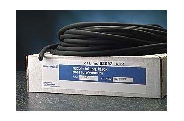 VWR Black Vacuum Rubber Tubing 9767 50'' Coil Length