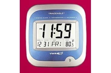 VWR Calendar/Thermometer Wall Clock 1072
