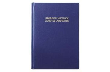 VWR English/French Good Laboratory Practice Notebooks 818-0076 Grid Format A4