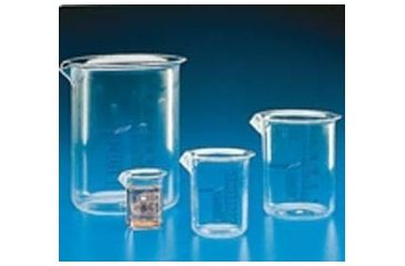 VWR Graduated Beakers, Low Form, PMP K1722-VWR