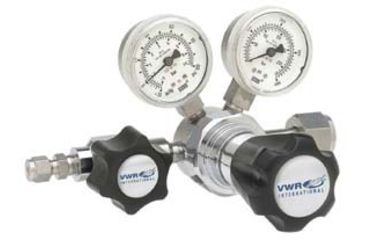 VWR High-Purity Single-Stage Gas Regulators, Stainless Steel 3001163