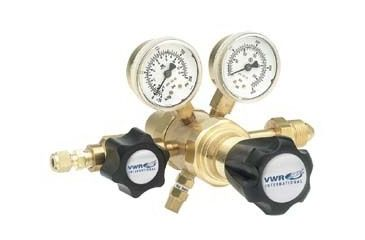 VWR High-Purity Two-Stage Gas Regulators, Brass 3300759