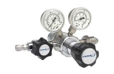 VWR High-Purity Two-Stage Gas Regulators, Stainless Steel 3300766