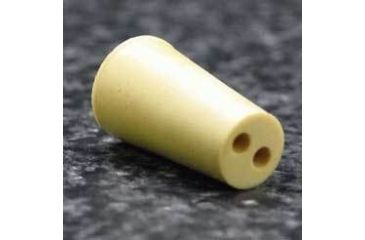 VWR Rubber Stoppers, Two-Hole 10-M182