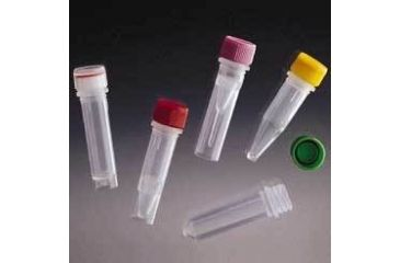 VWR Screw-Cap Microcentrifuge Tubes 3616-875-300 Screw Cap Tubes With Clear Loop Caps
