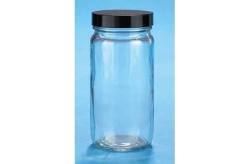 VWR Straight-Sided Glass Jars, Wide Mouth VW5510448B Bottles Only