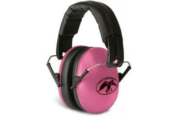 Walkers Duck Commander Ultra Lightweight Folding Ear Muffs, Pink GWP-YMFM2PNK-DC