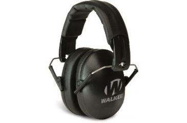 Walkers Youth & Women Folding Muff Black GWP-YWFM2