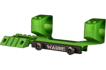 Warne 1in. Tactical 1 PC ZOMBIE GREEN, Zombie Green, small RAMP1Z