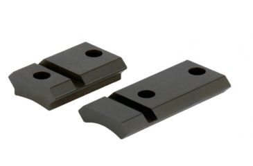 Warne Maxima 2 pc. Steel Base w/ Front Extension for Winchester Model 70 w/.860 RHS, Marlin XL-7 - Matte Black