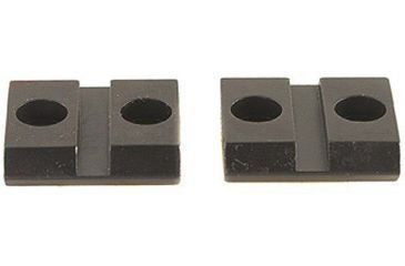 Warne Anschutz, All Marlin A1 and 50 2 Pc Steel Rifle scope Mounts- Gloss