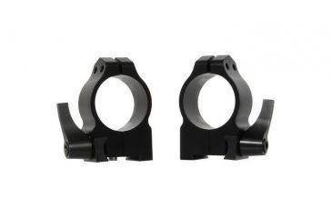 Warne Riflescope Mount Rings for CZ 550 19mm, Quick Detach, Dovetail Medium, Matte Finish, 30mm 14BLM