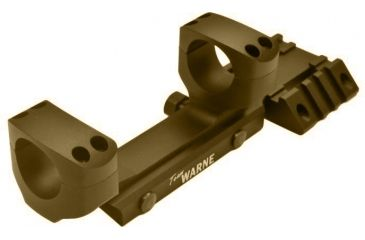 Warne Team Warne 1in. Tactical 1 PC Rapid Acquisition Multi-Sight Platform, DARK EARTH Finish RAMP1DE