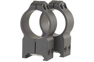 Warne X-High Scope Rings w/Matte Finish 216M