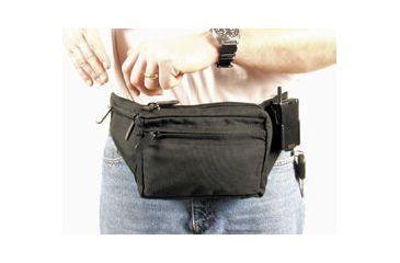 BlackHawk Weapon Fanny Pack w/Thumbbreak Holster & Beltloops -Medium 60WF05BK