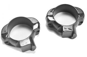 Weaver 1in Grand Slam Steel Rings, .22 Style, Medium, Matte 49217