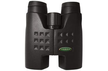 Weaver Roof-Prism Binoculars Grand Slam 10x42 mm Water-Proof Matte Black Rubber 849628