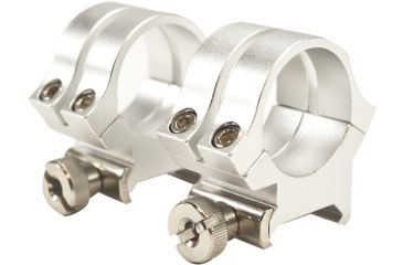 Weaver Rings Quad-Lock, 1in. High gh, Silver